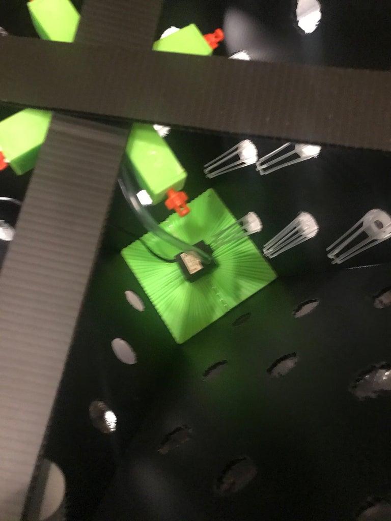 Inserting the Pyramid