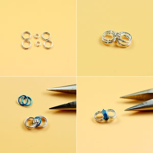 How to Make the Shining Crystal Earrings: