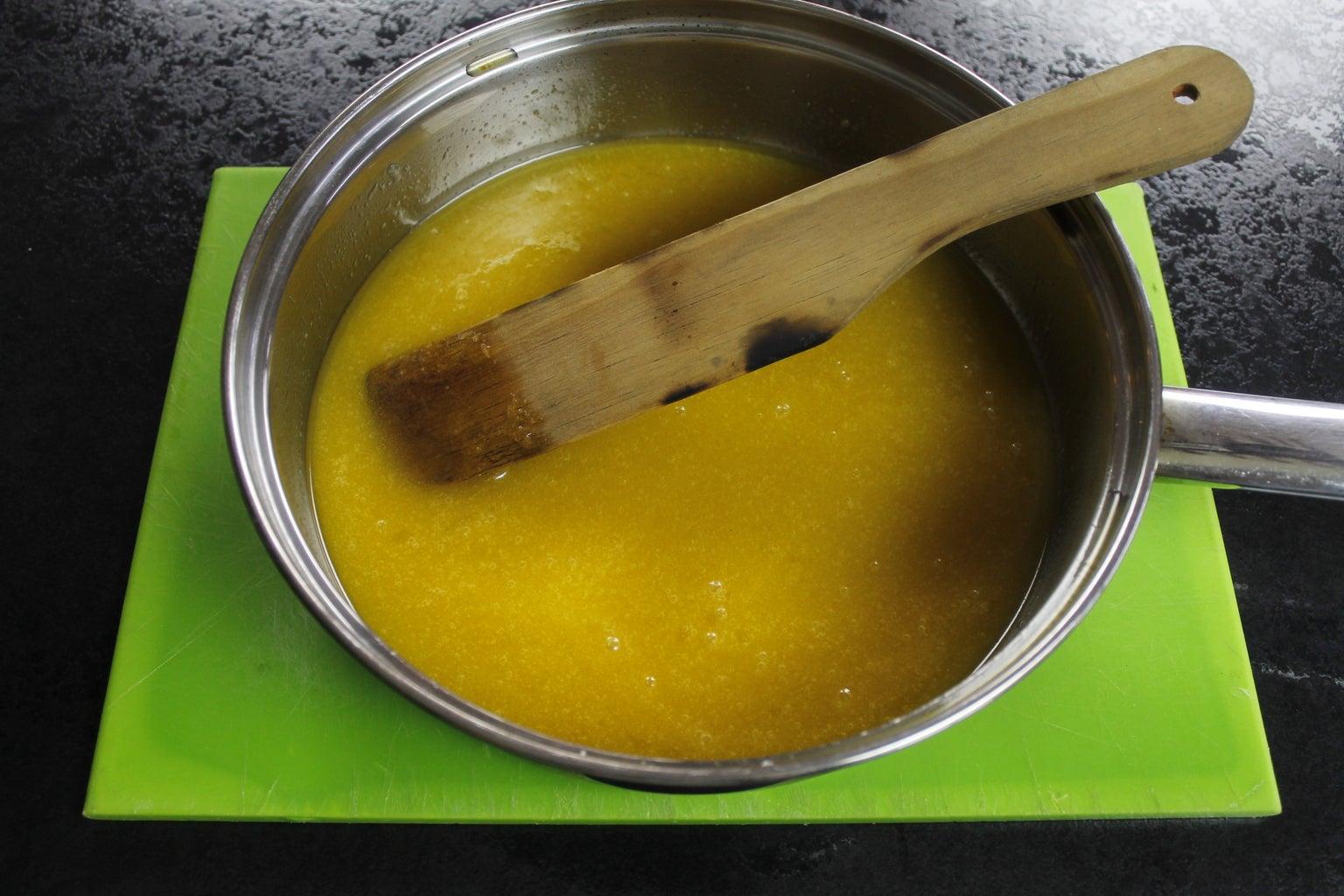 Melting and Stirring