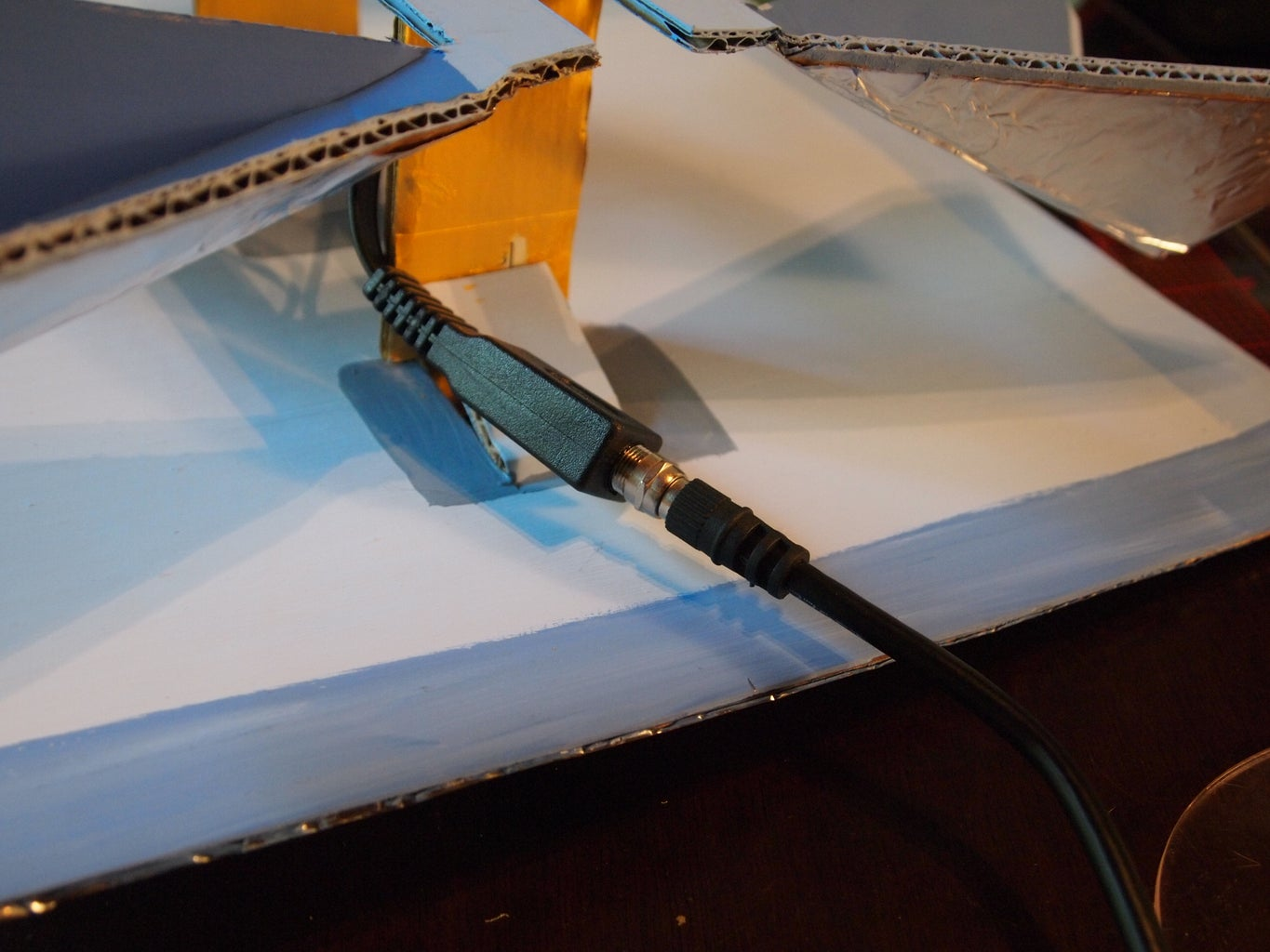 The Wiring for the Antenna