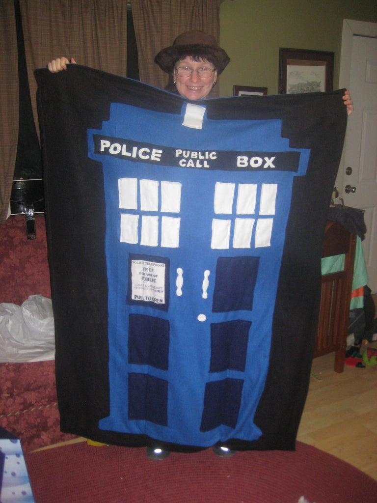 Make a Tardis Blanket