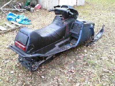 My 1986 Yamaha Phazer...put Back Together!