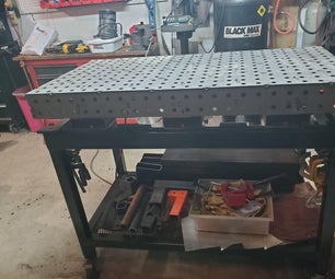 Laser Cut Welding Table Top