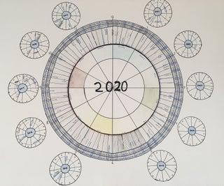 Clock-shaped Calendar