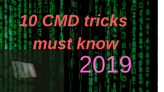 10   Command Prompt   Secrets and Tricks   (Must Know)