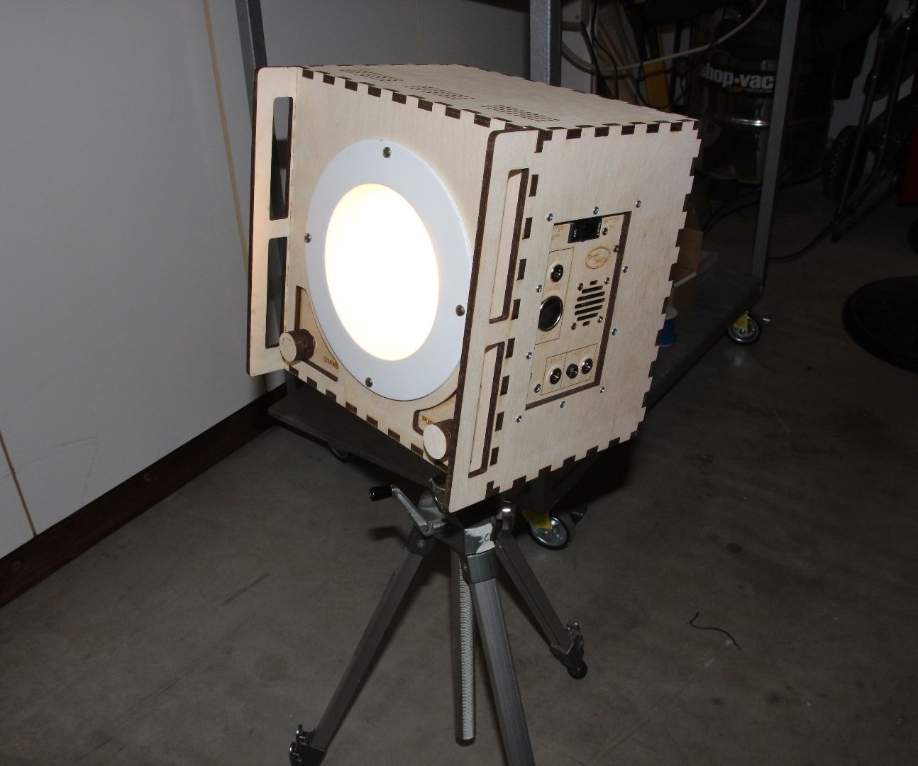 LED Floodlight Power Station
