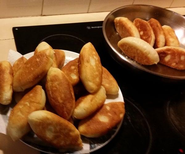 Fried Russian Pies (pirozhki)
