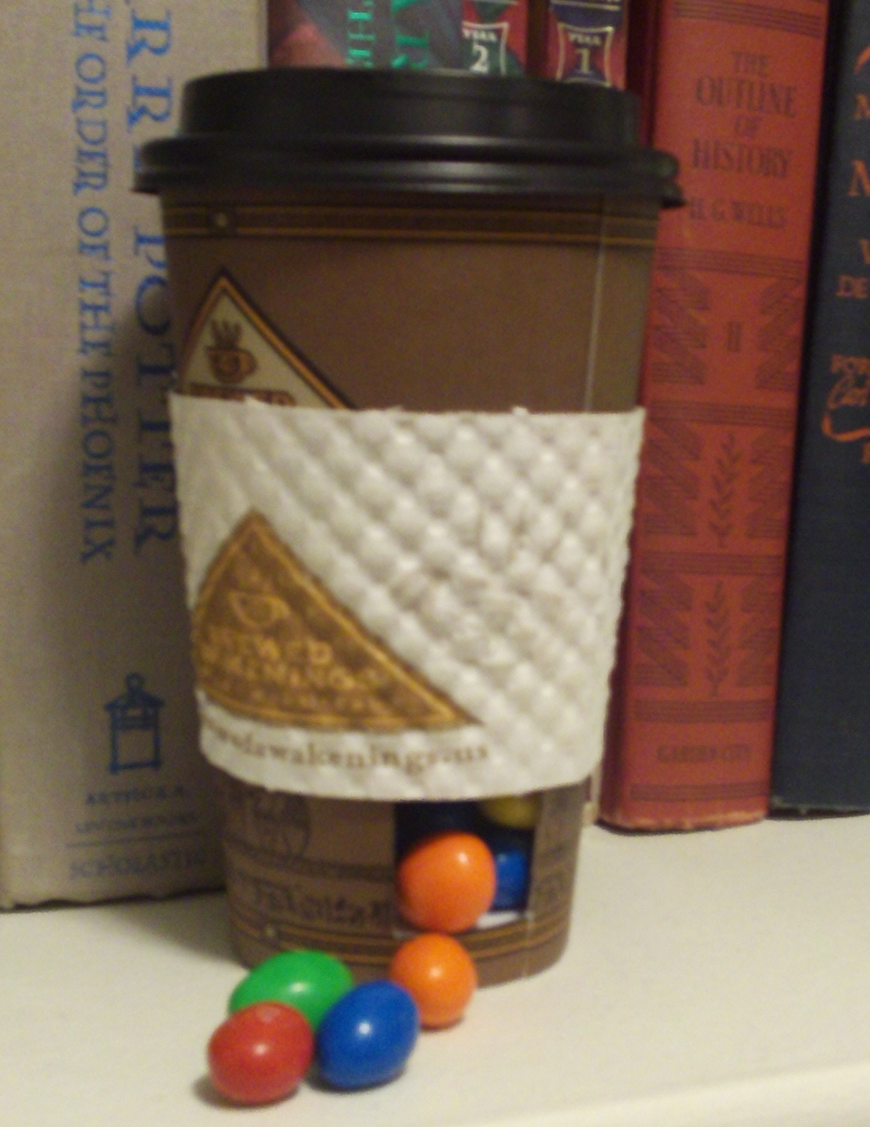 Secret Coffee Cup Candy Dispenser
