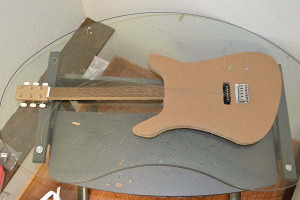 Cardboard Electric Guitar