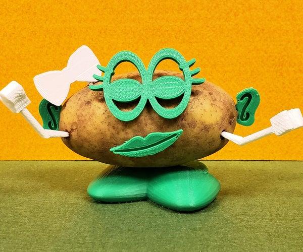 DIY Mr. Potato Head Throwback