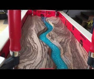 Step by Step Epoxy River Pour for Beginners