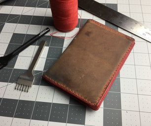 DIY Leather Passport Wallet