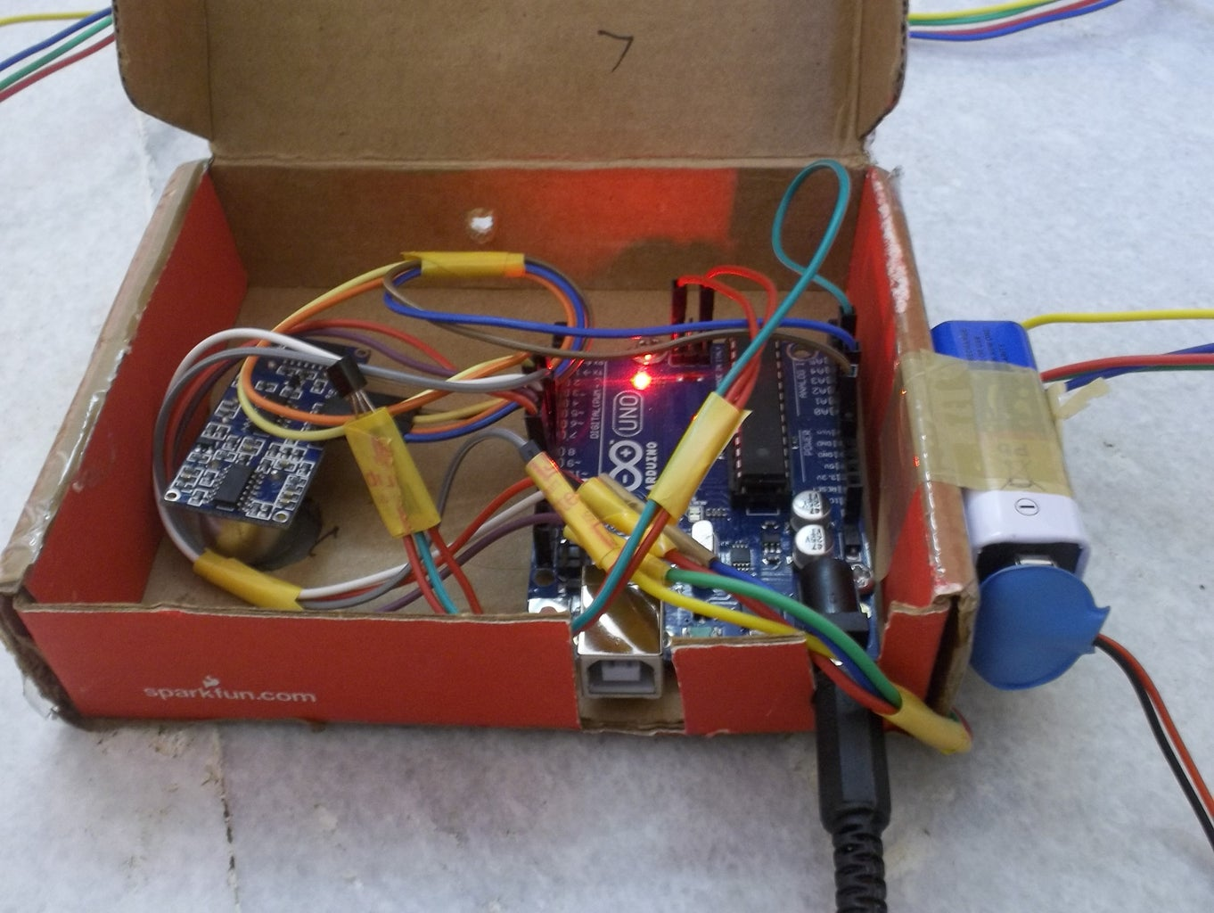 Setting Up Temperature Sensor..