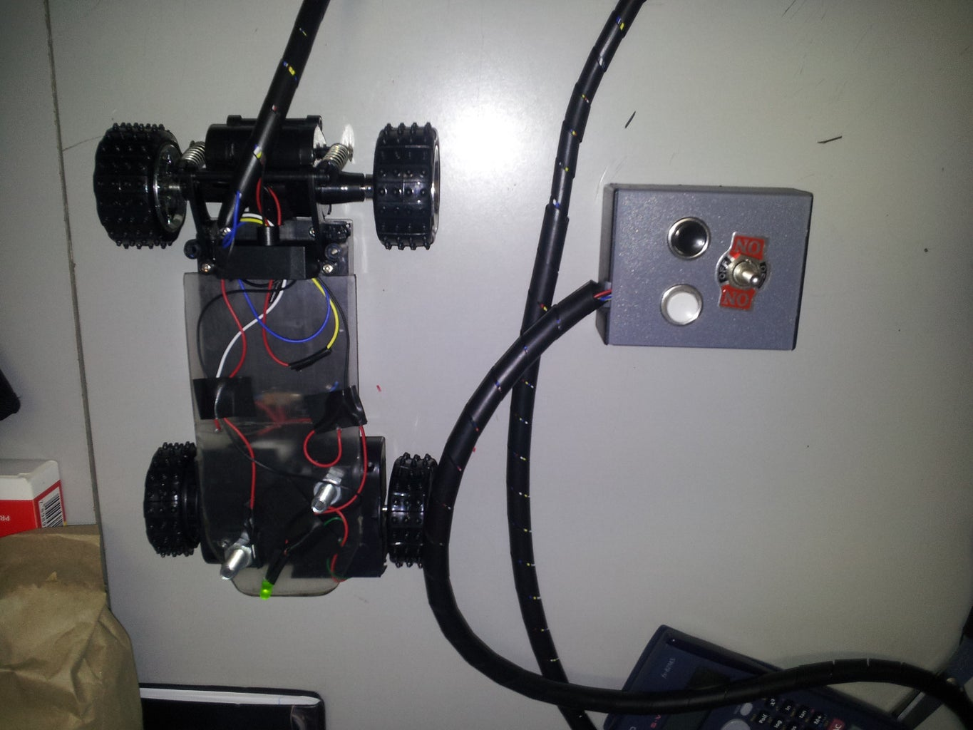 Toy Car With DTST Switch