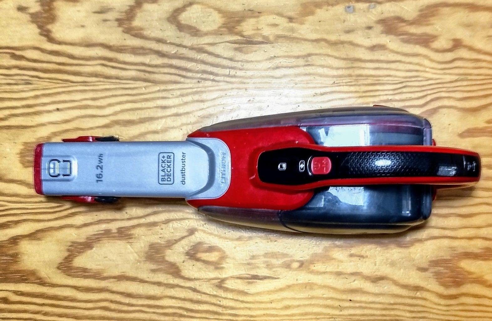 Portable Black+Decker Vacuum Cleaner Fix - Aspirador De Mano Dustbuster Litio 16.2Wh Con Acción Ciclónica. Modelo DVJ315J