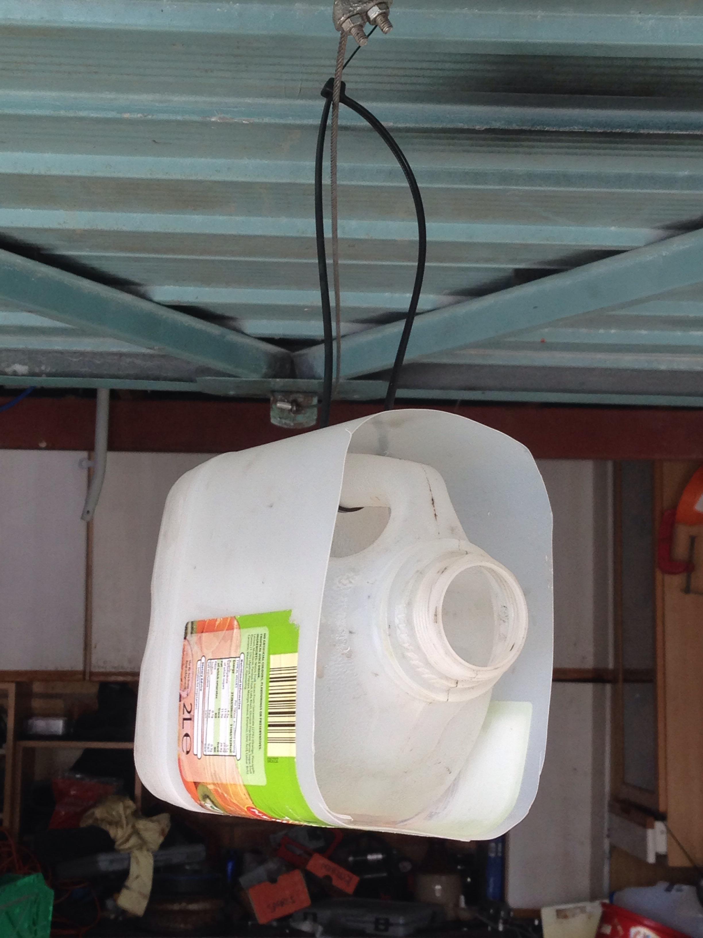 Milk Carton Bird box