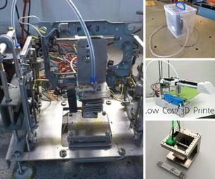 3D Printing, CNC Machining
