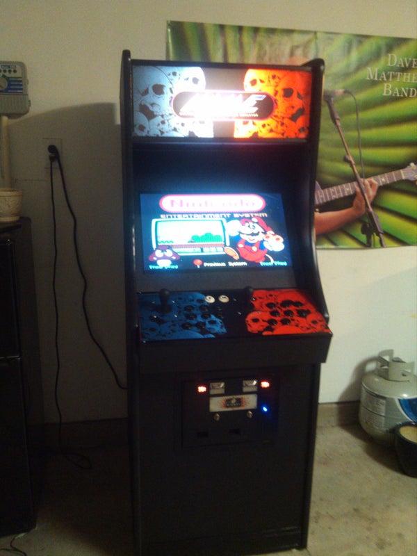 DIY Home Arcade Machine