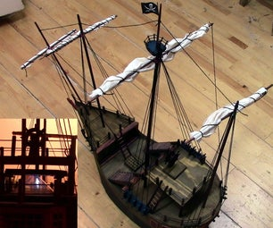 Pirate Ship With Holodeck