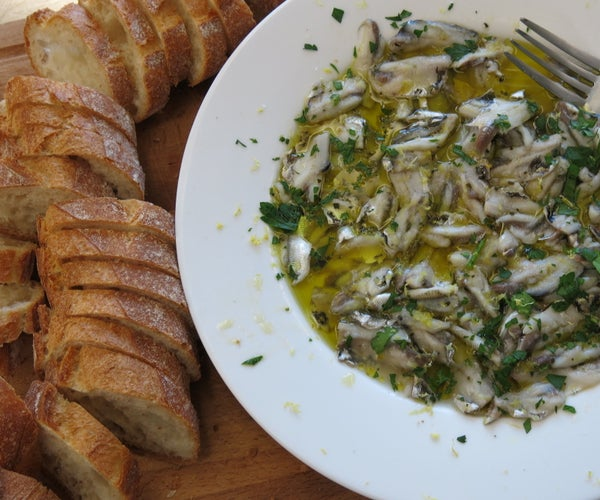 How to Clean and Preserve Anchovies