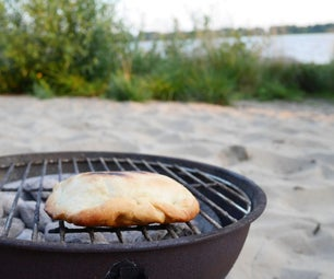Super Easy Calzone on the BBQ