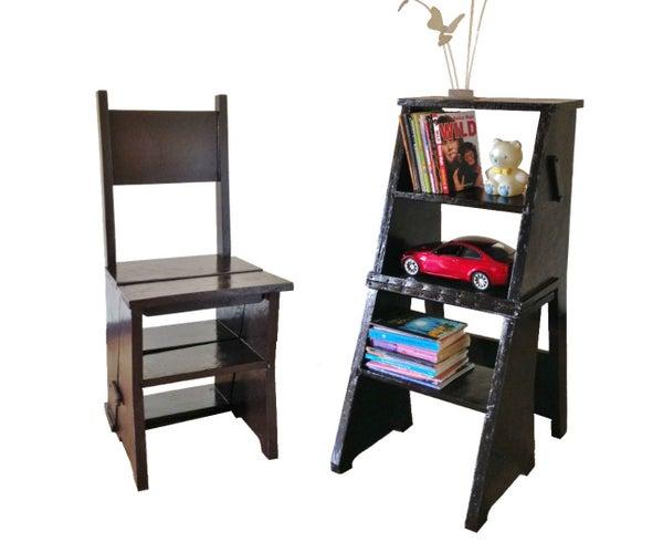 Ladder Chair / Library Chair