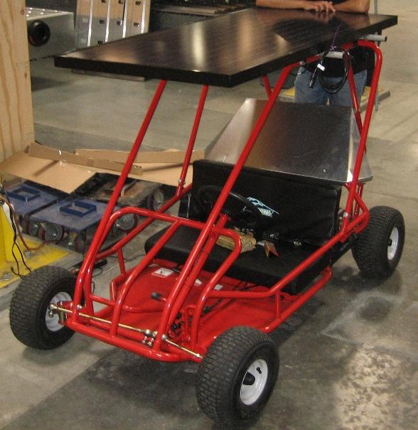 Solar Powered Go Kart