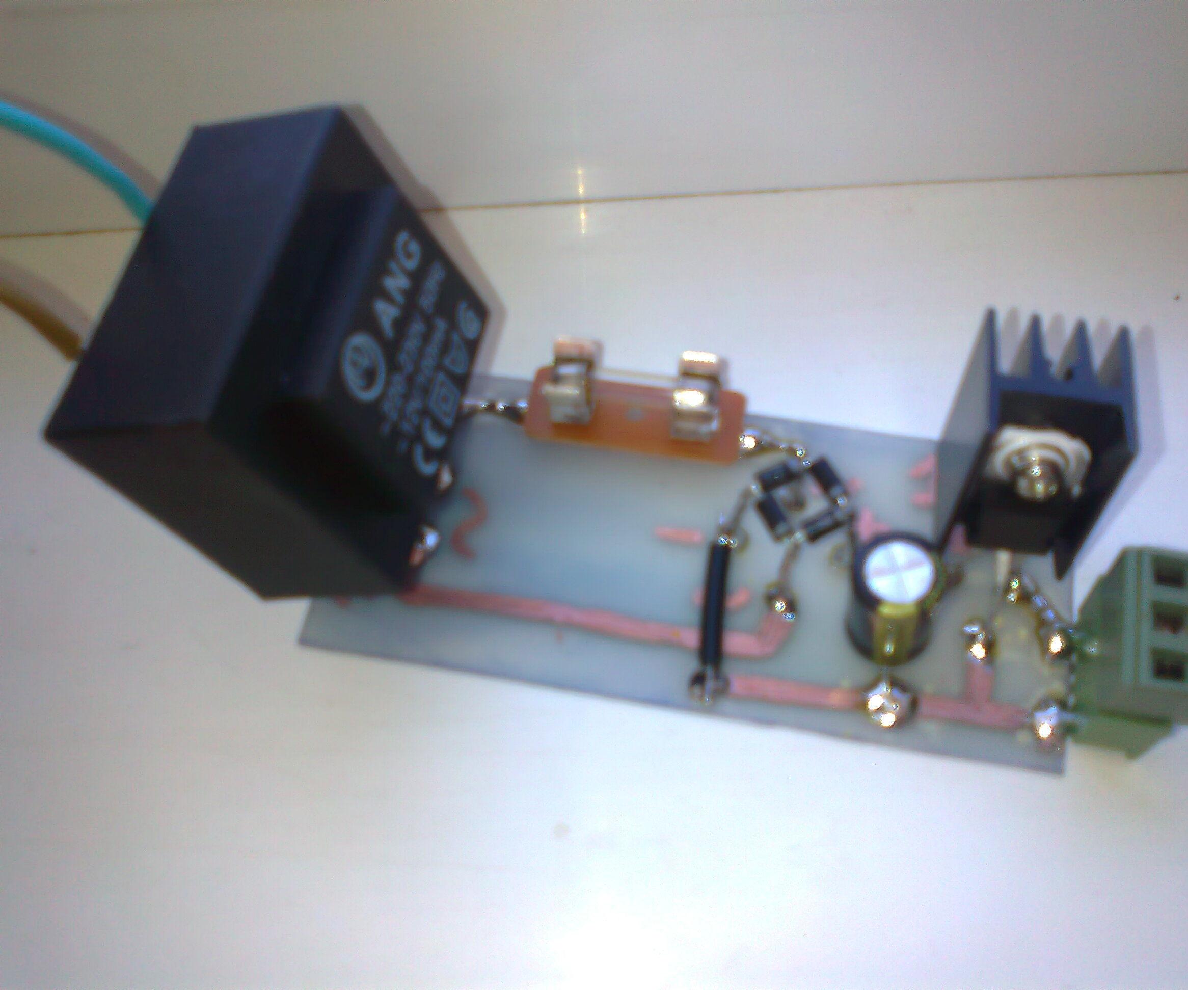~12VAC to 12VDC converter circuit