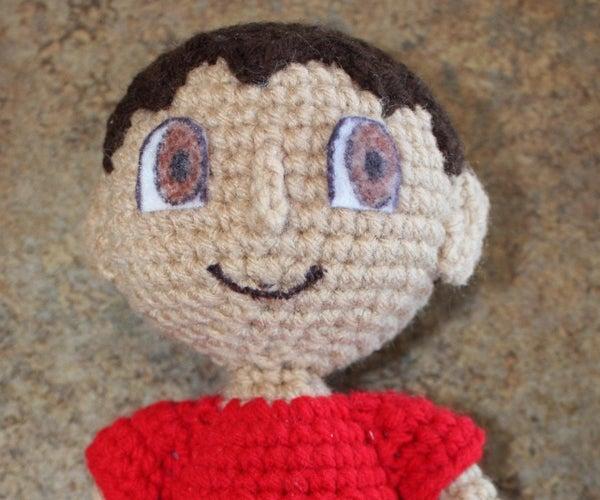 Animal Crossing Crocheted Player