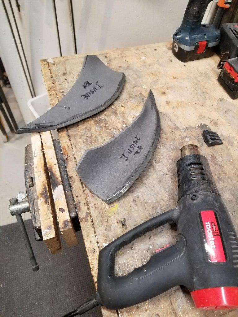 Cut the Foam & Gluing