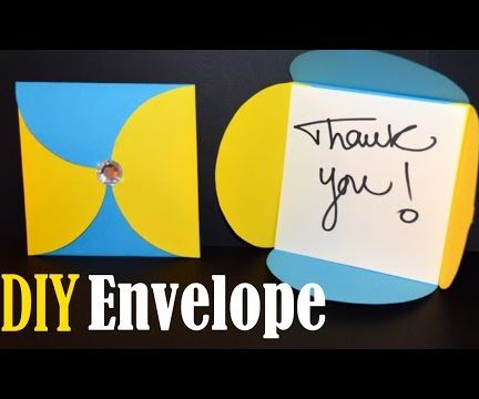 How to Make an Envelope - Easy DIY Envelope