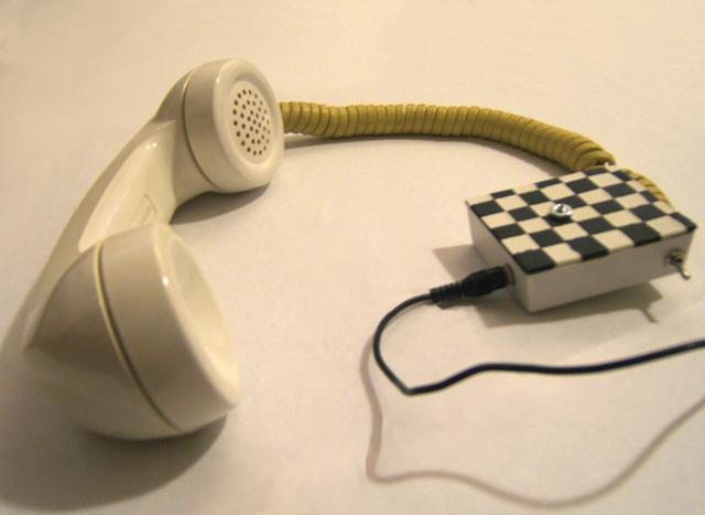 Telephone Handset Microphone