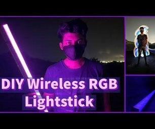 DIY Wireless RGB Photography Light Stick [ESP8266]