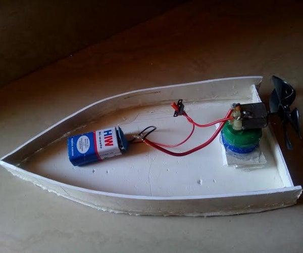 DIY Motor Boat