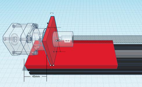 Design Process - Stepper Motor Mount - Bracket