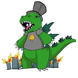 Godzilla with Hat and Shirt.jpg