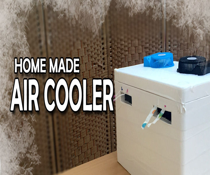 Home Made Air Cooler (Video)
