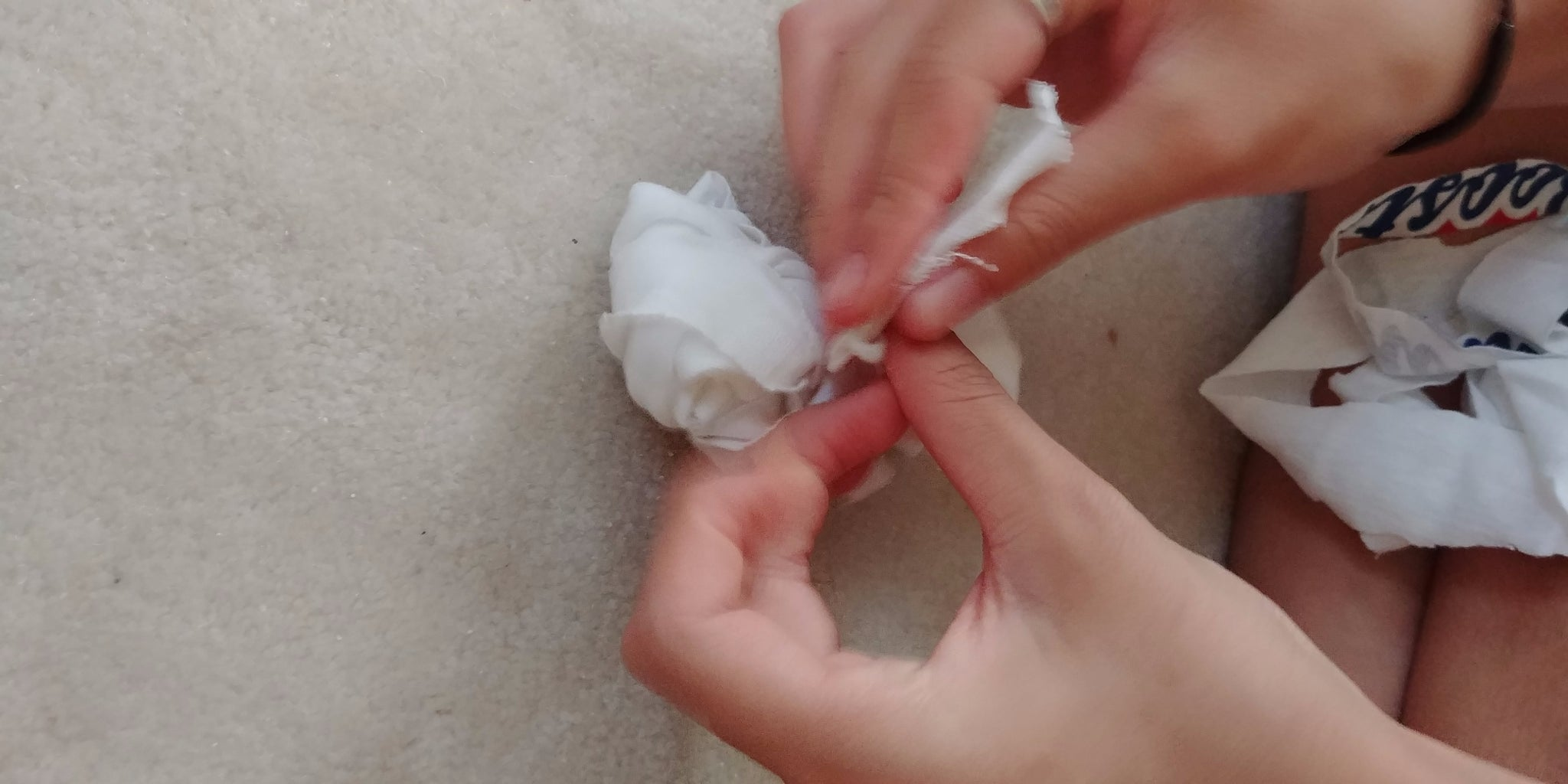 Making the Pompom