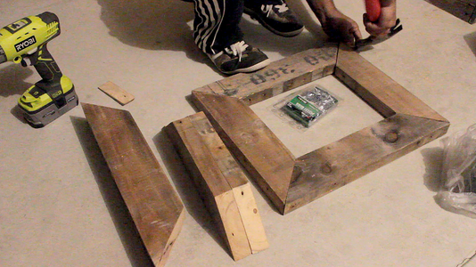 Assembling the Top and Bottom