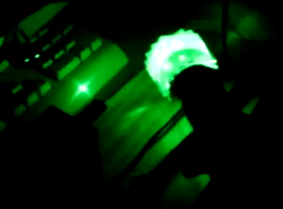 DIY Audio Controlled Laser Show!