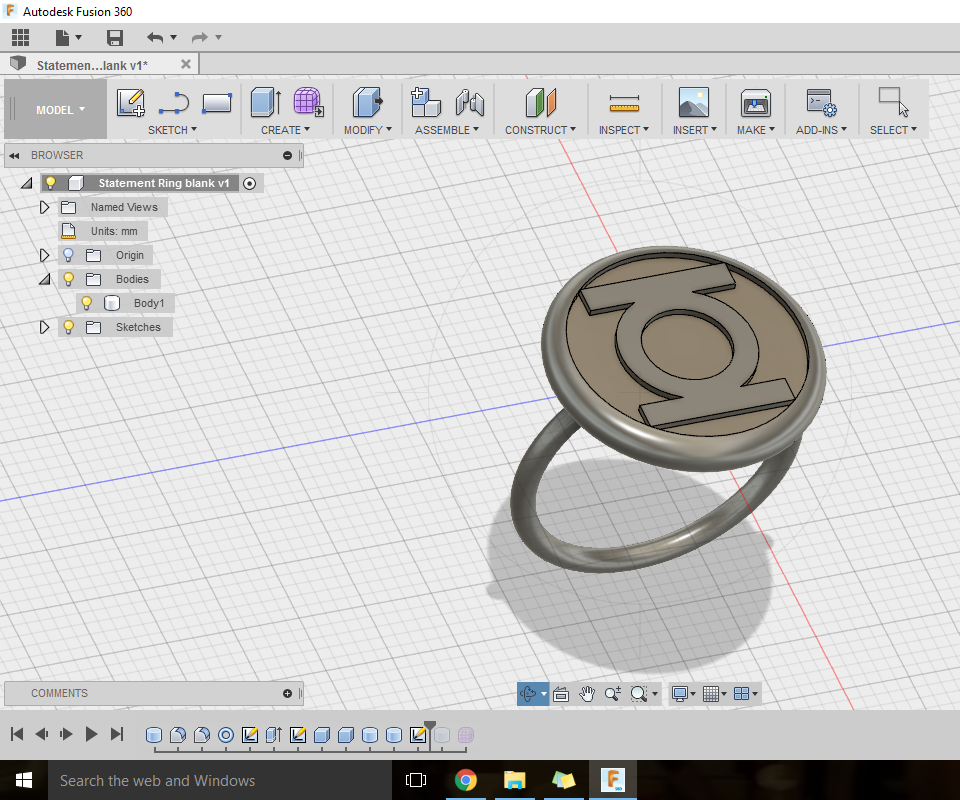 Making a cereal box style ring with no experience and $10
