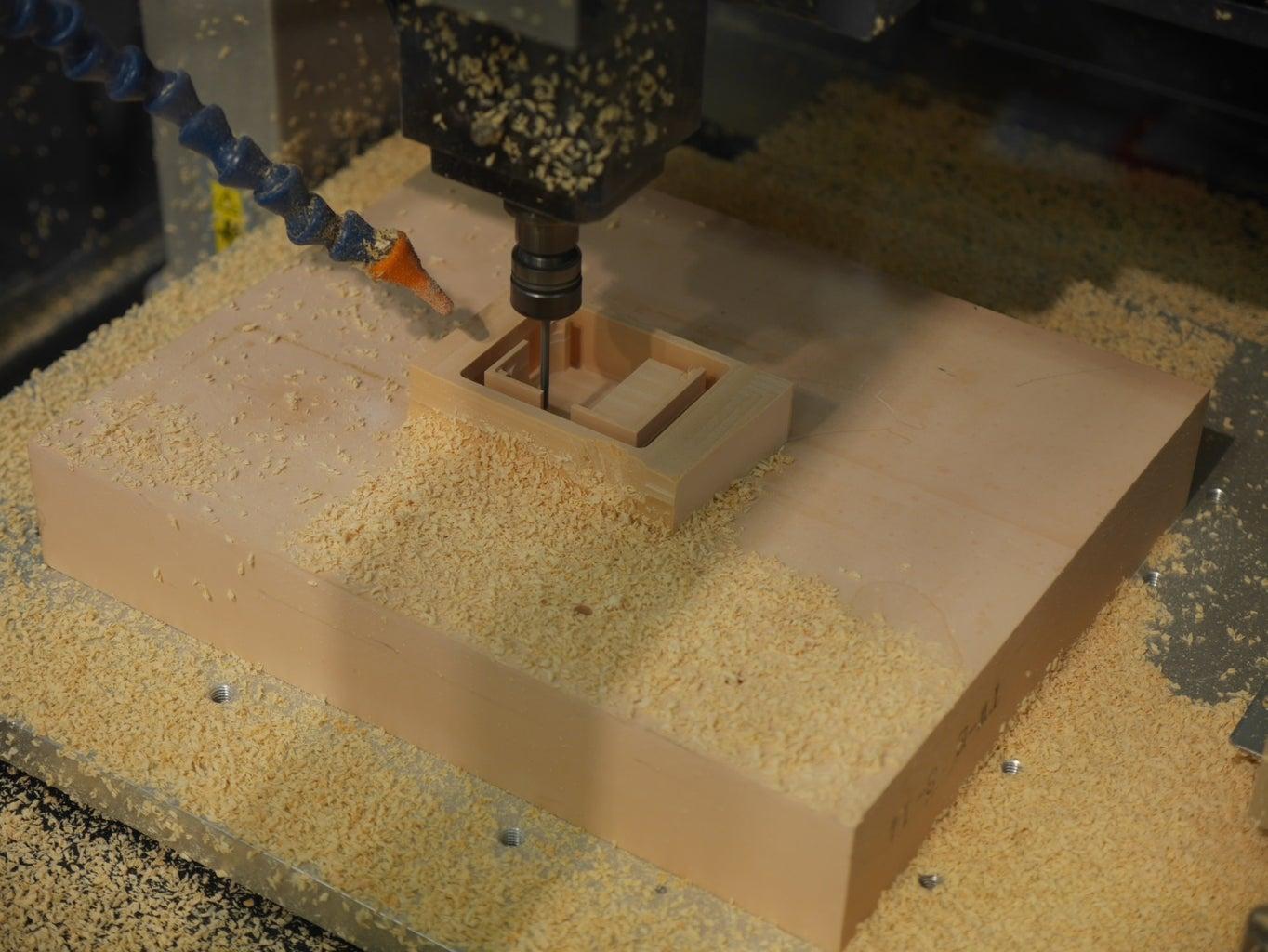 Making Enclosure and Dial Wheel.