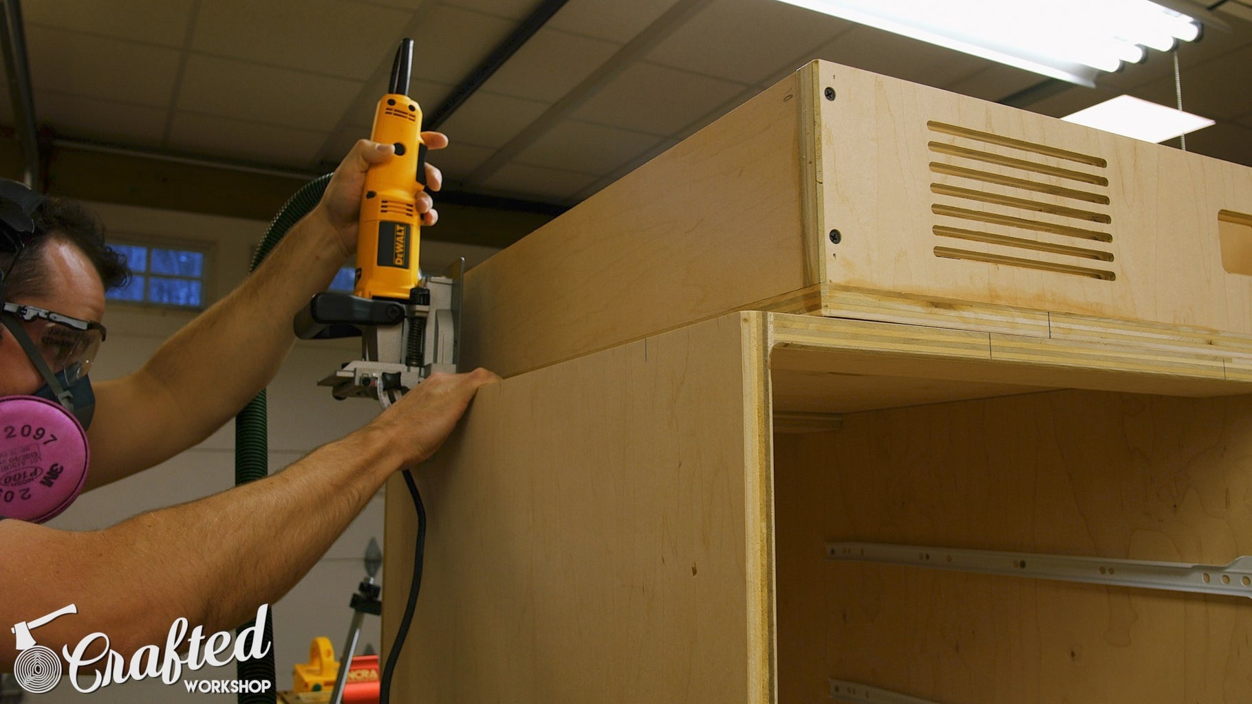 Connect Cabinets and Midsection