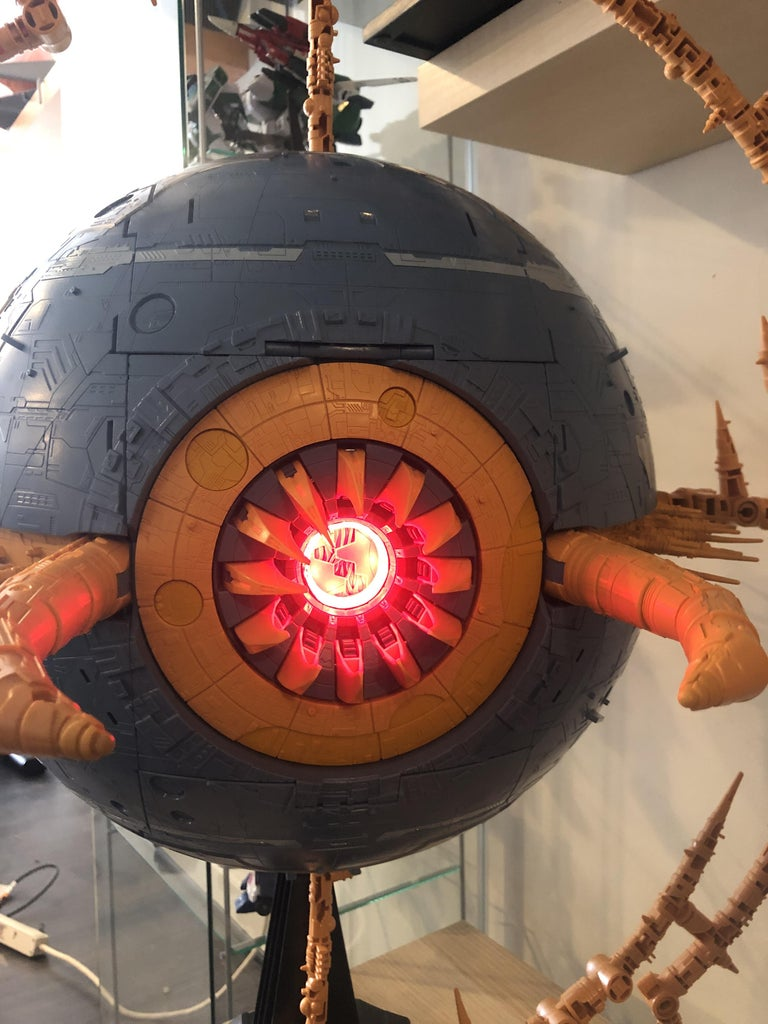 Add Voice and Lights to Haslab Unicron