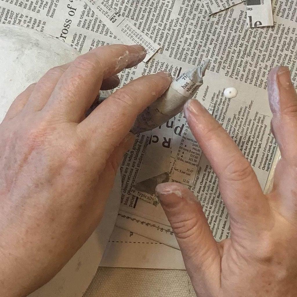 Papier-Mâché Horns
