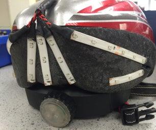 Bike Helmet With Built in Indicators and Brake Light System