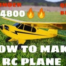 How to Make Rc Plane at Home Under $60