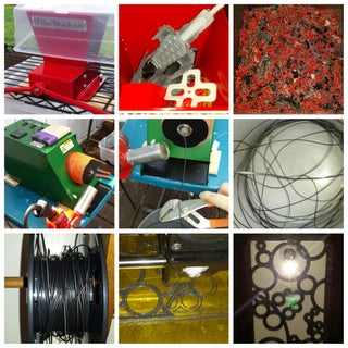 Make New Filament From Old 3D-prints (Recycling)
