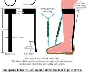 ALS Foot Drop Brace