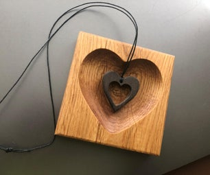 Scalloped Heart Trinket Tray/Coin Tray With Fusion 360